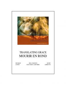 Translating Grace couverture de livre