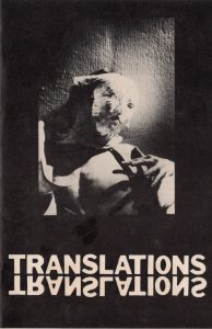 Translations couverture originale
