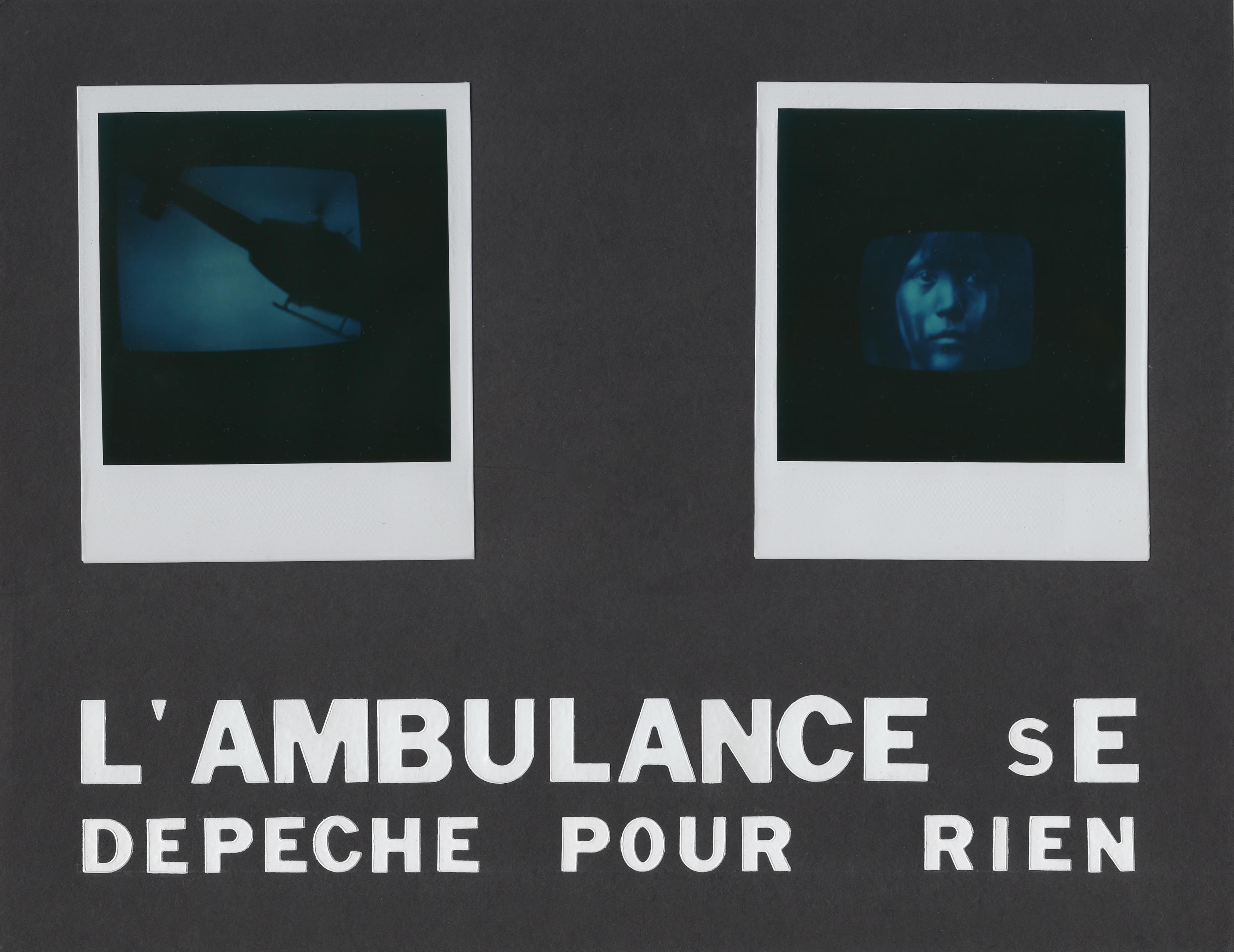 L'ambulance se dépêche pour rien